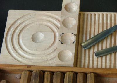 Stage de sculpture sur bois - Débutant 5/12