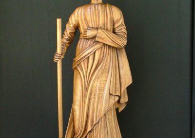 Sulpture bois figurative - St Joseph